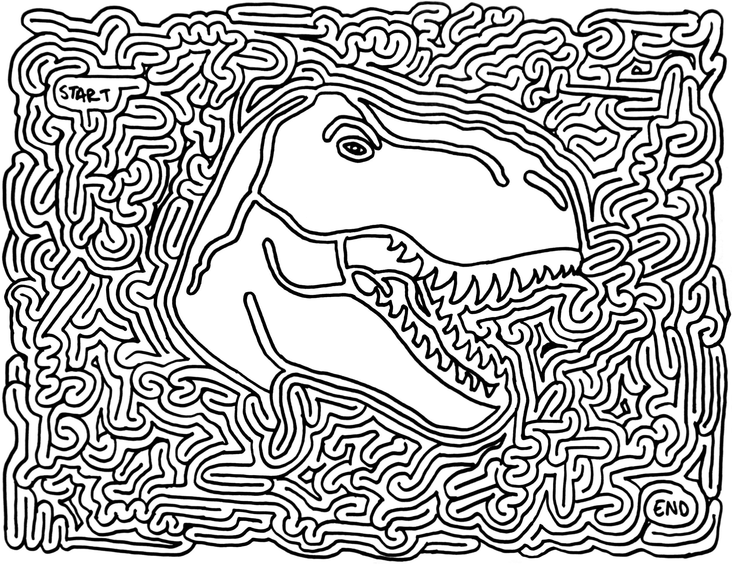Printable Mazes - Best Coloring Pages For Kids - Printable Puzzles Mazes