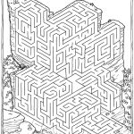 Printable Mazes For Adults For Brain Therapy And Practice | Dear   Printable Puzzle Sheets For Adults