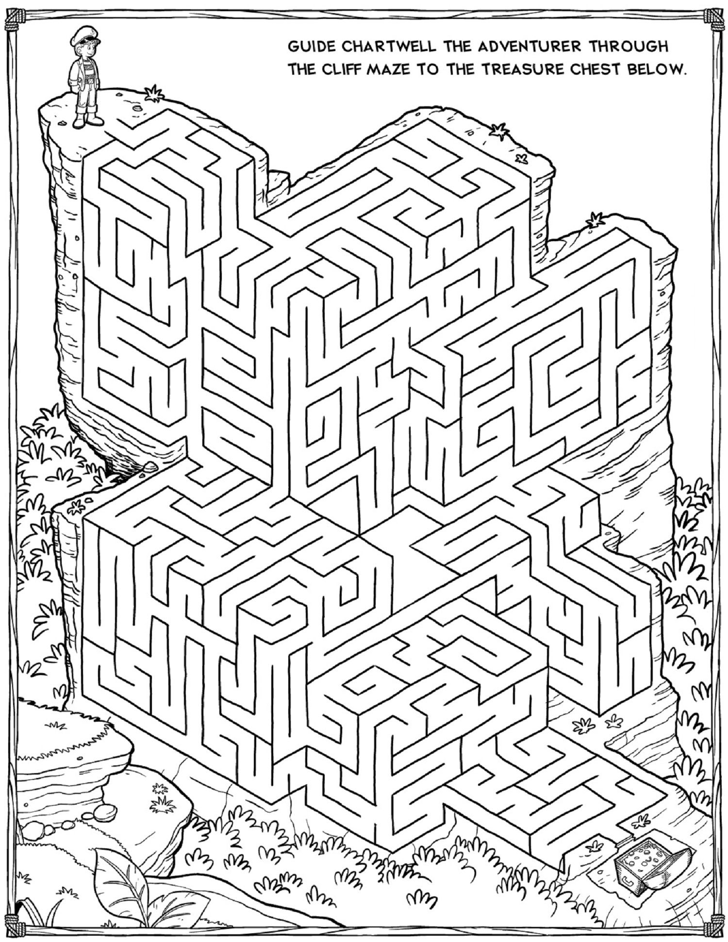 Printable Mazes For Adults For Brain Therapy And Practice | Dear - Printable Puzzle Sheets For Adults