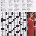 Printable People Magazine Crossword Puzz   Printable Crossword Puzzles From People Magazine