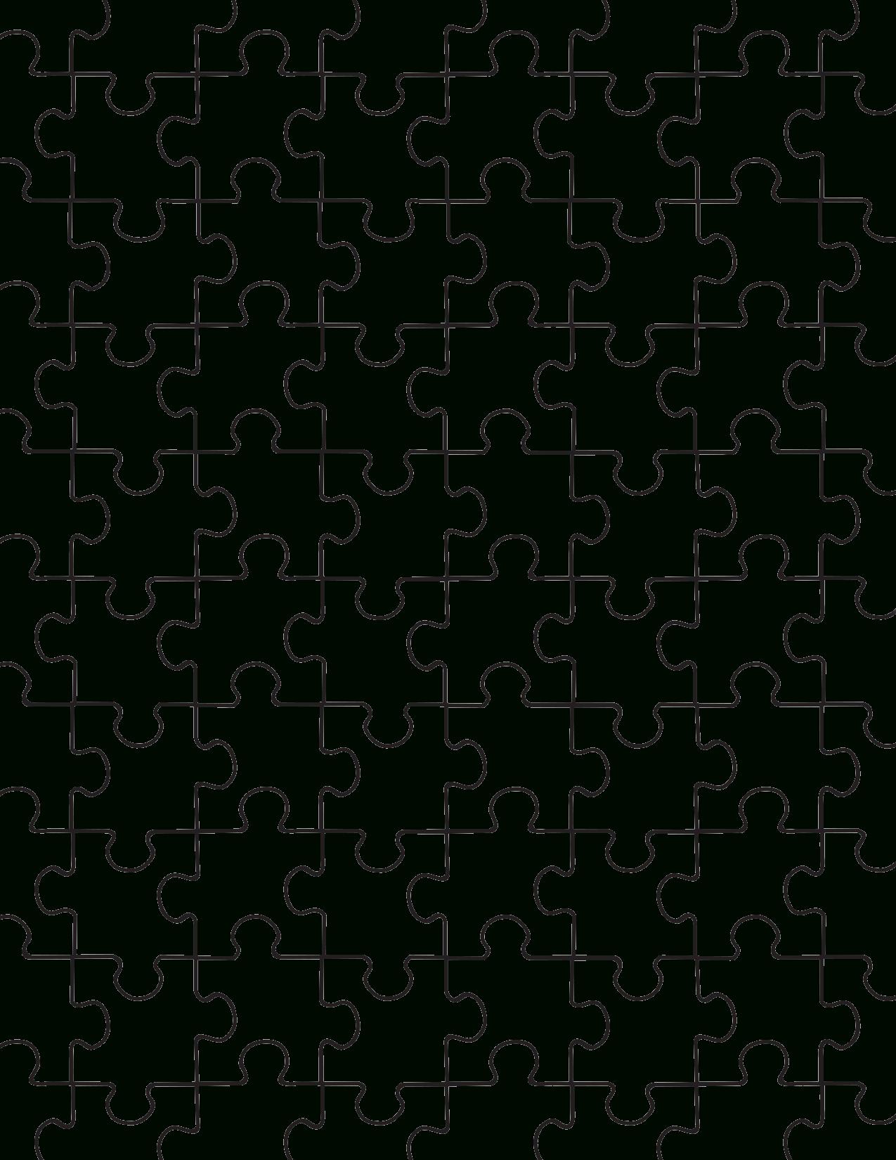 Printable Puzzle Pieces Template | Lovetoknow - Printable Jigsaw Puzzle Pdf