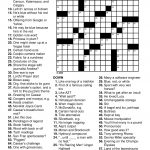 Printable Puzzles For Adults | Easy Word Puzzles Printable Festivals   Usa Today Crossword Printable Version