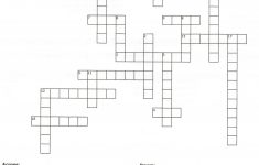 image relating to Printable Crossword Puzzles for Teens known as Printable Puzzles For Older people No cost Printable Crossword