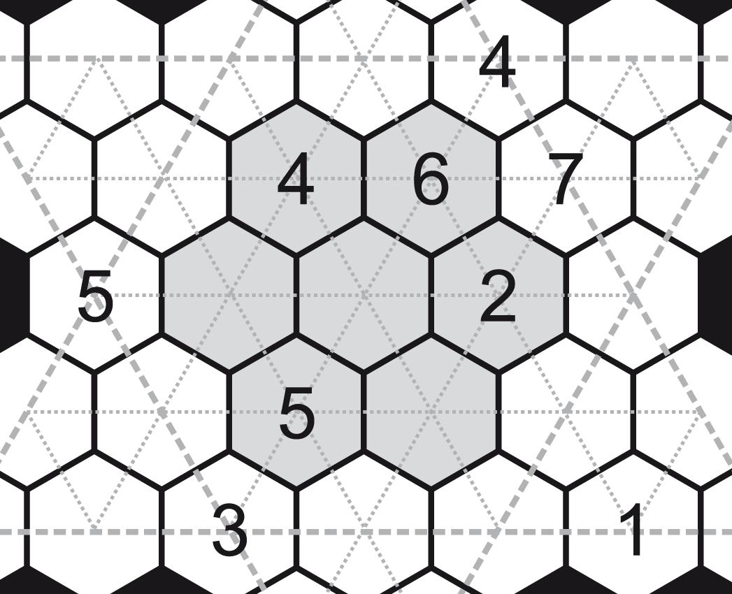 Printable Rosetta Puzzles | Puzzle Baron - Printable Hexoku Puzzles