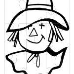Printable Scarecrow Face   Google Search | Halloweekend 2017   Printable Face Puzzle