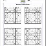Printable Soduku | Room Surf   Printable Crossword Sudoku Puzzles