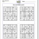 Printable Sudoku Free   Printable Sudoku Puzzles Pdf