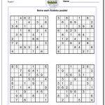 Printable Sudoku Puzzle | Ellipsis   Unique Printable Puzzles