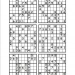 Printable Sudoku Puzzles 6 Per Page | Download Them Or Print   Free   Printable Sudoku Puzzles 1 Per Page
