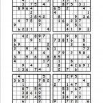 Printable Sudoku Puzzles 6 Per Page | Download Them Or Print   Free   Printable Sudoku Puzzles 2 Per Page