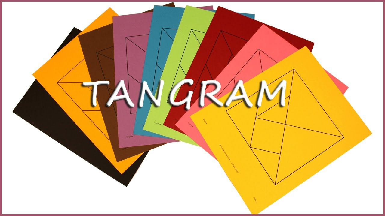 Printable Tangram Puzzles With Solutions - Youtube - Printable Tangram Puzzles And Solutions