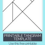 Printable Tangrams   An Easy Diy Tangram Template | Art For   Printable Tangram Puzzles Pdf