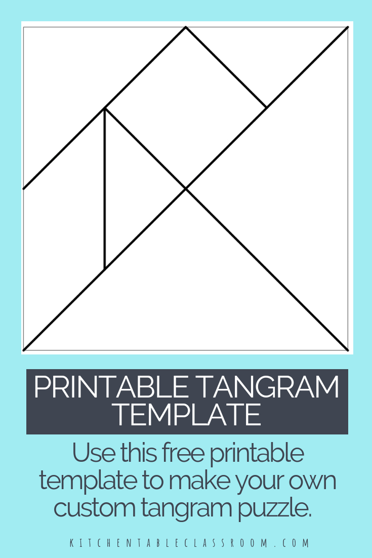 Printable Tangrams - An Easy Diy Tangram Template | Art For - Printable Tangram Puzzles Pdf