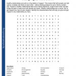 Printable Worksheets   Printable Nutrition Puzzles