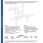 Printable Worksheets   Printable Youth Crossword Puzzles