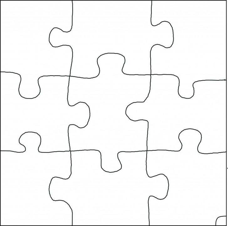 Printable Puzzle Pieces That Fit Together