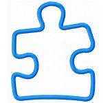 Puzzle Pieces Outline | Free Download Best Puzzle Pieces Outline On   Free Printable Autism Puzzle Piece
