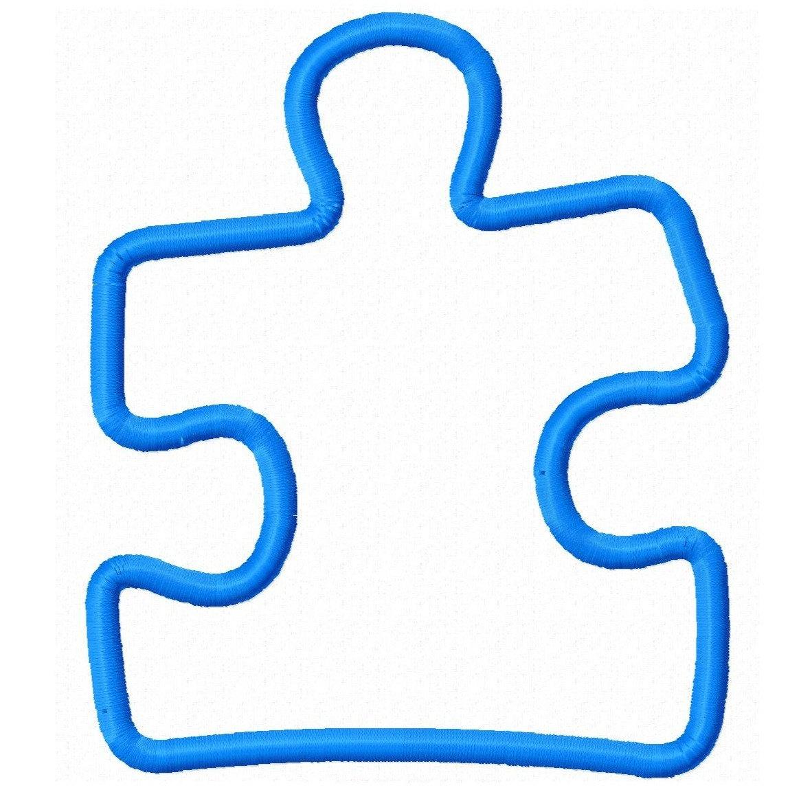 Puzzle Pieces Outline | Free Download Best Puzzle Pieces Outline On - Free Printable Autism Puzzle Piece