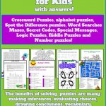 Puzzles For Kids | My Class | Word Puzzles For Kids, Puzzles For   Printable Pencil Puzzles