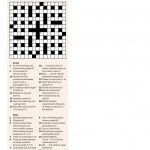 Quick Crossword #30 | New Scientist   Printable German Crosswords