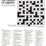 "Quick Logistics On Twitter: ""think You Are A #logistics Expert? Test – Printable Expert Crossword Puzzles"