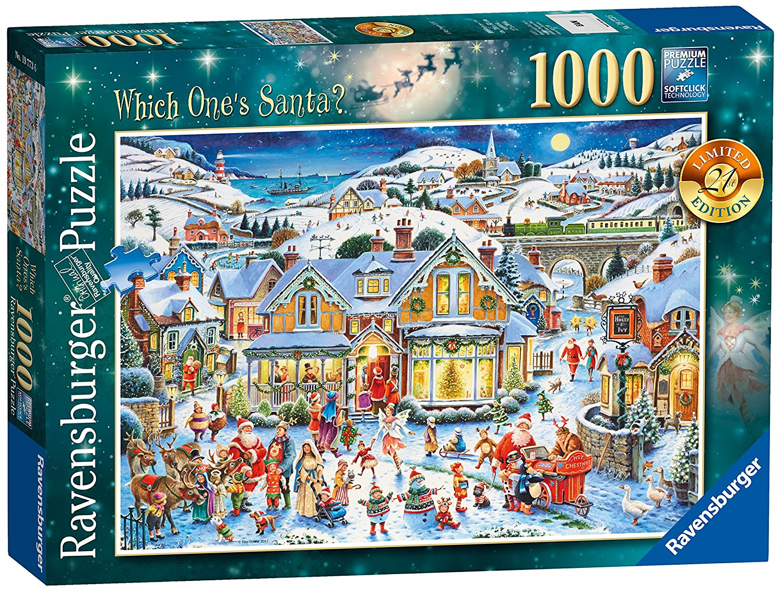Ravensburger Limited Edition Christmas Puzzles | - Christmas Puzzles Printable Uk