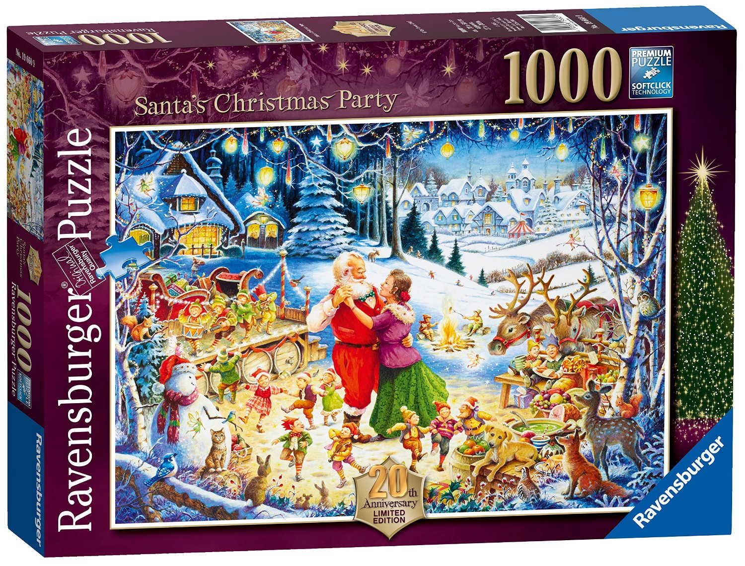 Ravensburger Limited Edition Christmas Puzzles | - Christmas Puzzles Printable Uk