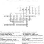 Rocks And Minerals Crossword Puzzle Crossword   Wordmint   Rocks Crossword Puzzle Printable