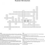 Russian Revolution Crossword   Wordmint   Printable Russian Crosswords