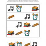 School Sudoku Puzzles {Free Printables}   Gift Of Curiosity   Printable Puzzles For Kindergarten