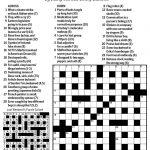 Sctv Crosswords   Printable Wsj Crossword