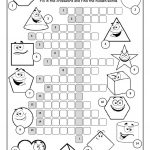 Shapes Crossword Puzzle Worksheet   Free Esl Printable Worksheets   Printable Puzzle Shapes