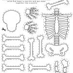 Skeleton Printable, All About Me Theme, Preschool Theme, All About   Printable Body Puzzle