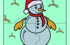 Snowman – Jigzaw Puzzles For Kids | Mocomi – Printable Jigsaw Puzzles For Preschoolers