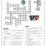 Solar System Crosword | Solar System | Solar System Worksheets   Printable Crosswords The Sun