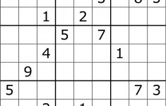 Solving Sudoku Using A Simple Search Algorithm – George Seif – Medium – Printable Sudoku Puzzles 9X9