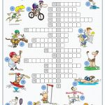 Sports Crossword Puzzle | English | Sports Crossword, Sport English   Sports Crossword Puzzles Printable