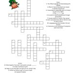 St. Patrick's Day Crossword | Children Education | St Patrick Day   Free Printable St Patrick's Day Crossword Puzzles