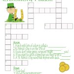 St. Patrick's Day Crossword Puzzle Printable | Free Printables   Free Printable St Patrick's Day Crossword Puzzles