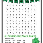 St Patricks Day Word Search   Best Coloring Pages For Kids   Free Printable St Patrick's Day Crossword Puzzles