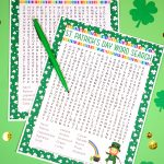 St. Patrick's Day Word Search Printable   Happiness Is Homemade   Free Printable St Patrick's Day Crossword Puzzles
