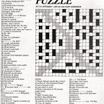 Stinkylulu: Gay Pride Crossword Puzzle (Homo Heritage Fridays)   Pop Culture Crossword Puzzles Printable