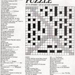 Stinkylulu: Gay Pride Crossword Puzzle (Homo Heritage Fridays)   Printable Crossword Puzzles Entertainment