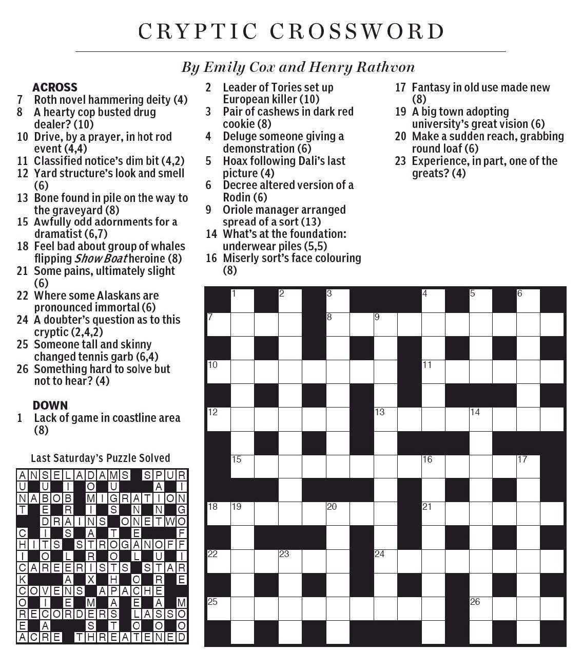 Style Of Dance Crossword Clue - Printable Crossword Puzzles Eugene Sheffer