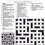 Style Of Dance Crossword Clue   Printable Sheffer Crossword Puzzle