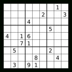 Sudoku Coursework Sample   Printable Sudoku Puzzles 3X3
