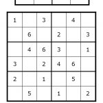 Sudoku For All Ages Plus Lots Of Other Printable Activities For Kids   Sudoku Puzzles Printable 6X6