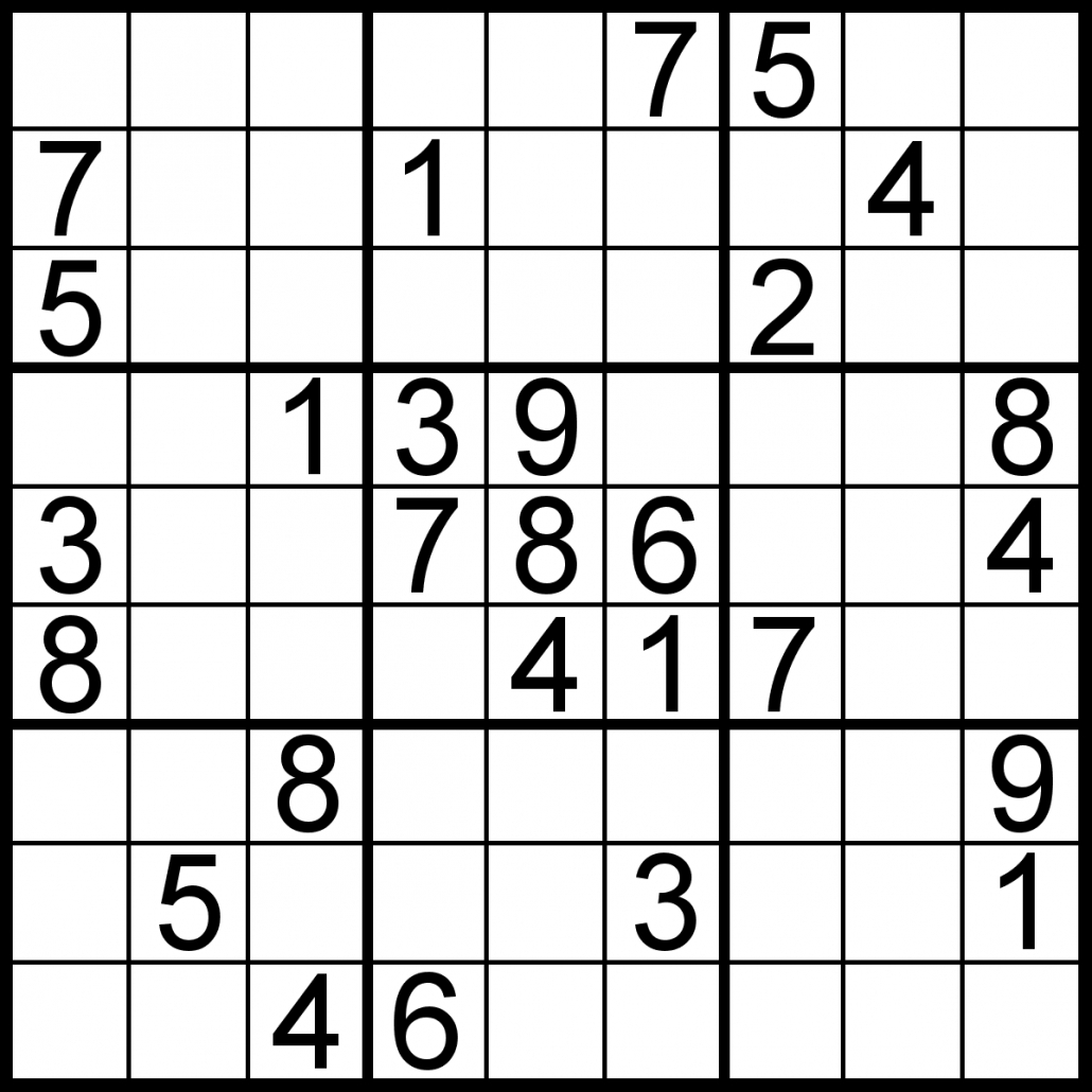 Sudoku Of The Day | Free Sudoku For Your Local Publications - 5 Star Sudoku Puzzles Printable