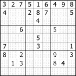 Sudoku Printable | Free, Medium, Printable Sudoku Puzzle #1 | My   Printable Sudoku Puzzles 9X9