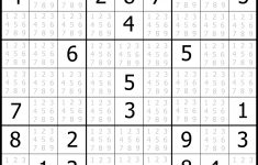 photograph about Sudoku Printable Medium identify Sudoku Printable Free of charge, Medium, Printable Sudoku Puzzle #1